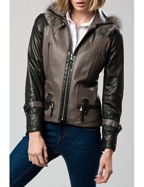 DERI&MOD   Женская Чёрная Куртка