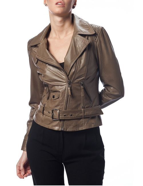 DERIMOD | Женская Коричневая Куртка