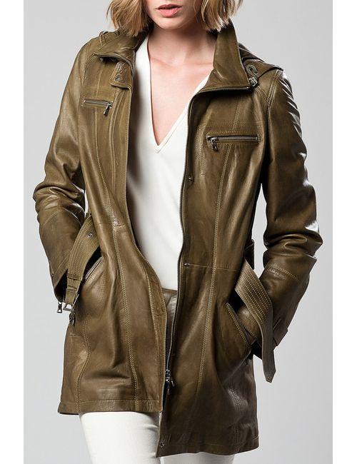 DERI&MOD | Женская Зелёная Куртка