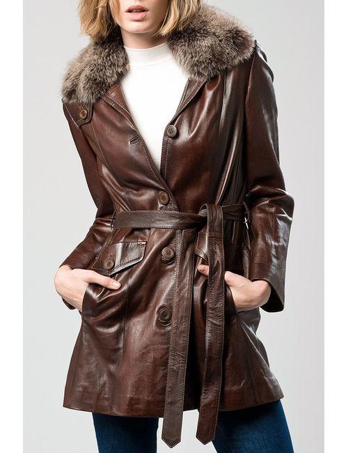 DERIMOD | Женское Коричневое Пальто