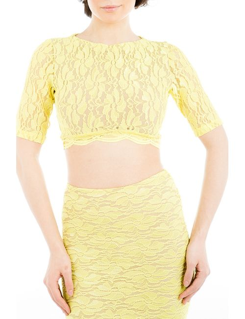 Tsurpal | Женский Жёлтый Топ