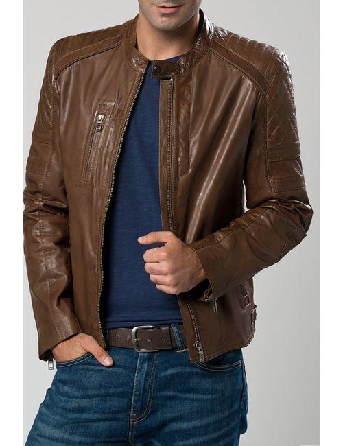 DERIMOD | Мужская Коричневая Куртка