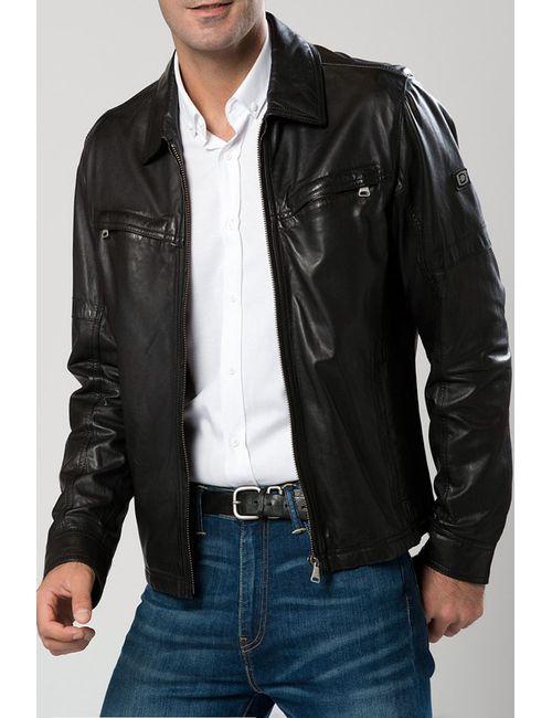 DERIMOD | Мужская Чёрная Куртка