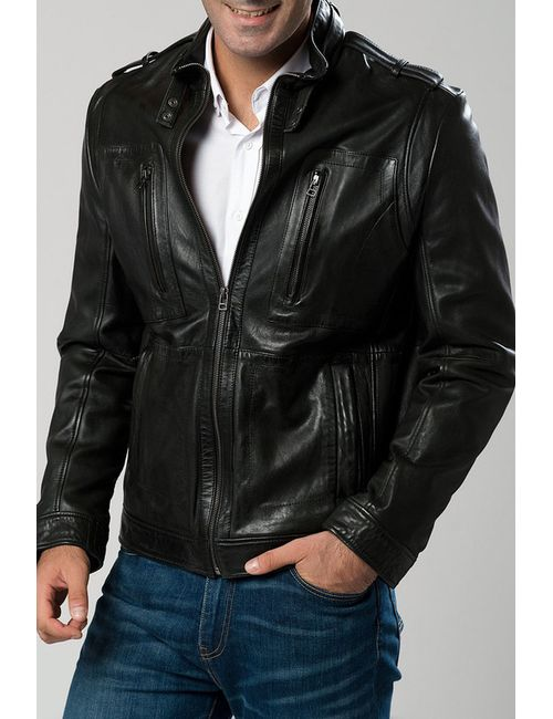 DERIMOD | Мужская Черный Куртка