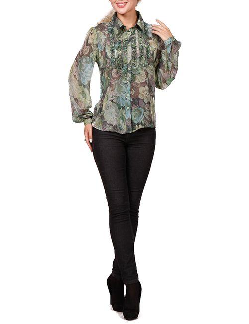 Rosso-Style | Женская Зелёная Блуза