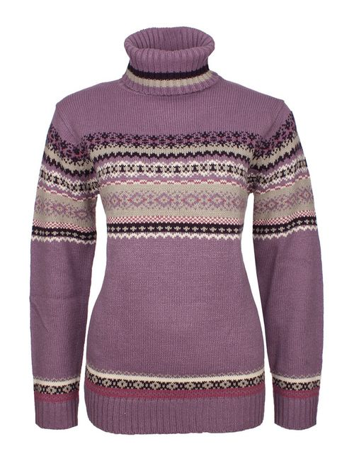 Usha | Женский Фиолетовый Свитер