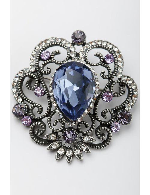 ZAXA HADID   Женская Фиолетовая Брошь