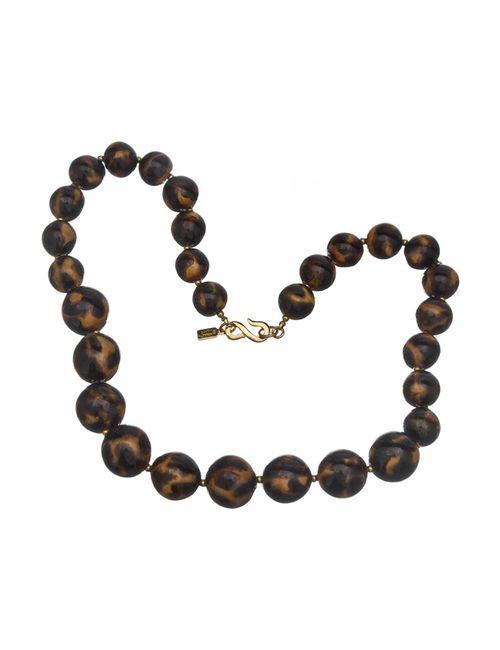 Kenneth Jay Lane | Женское Многоцветное Ожерелье Леопард