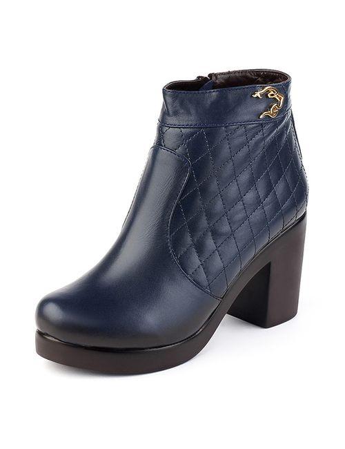 Grand Style   Женские Синие Ботинки