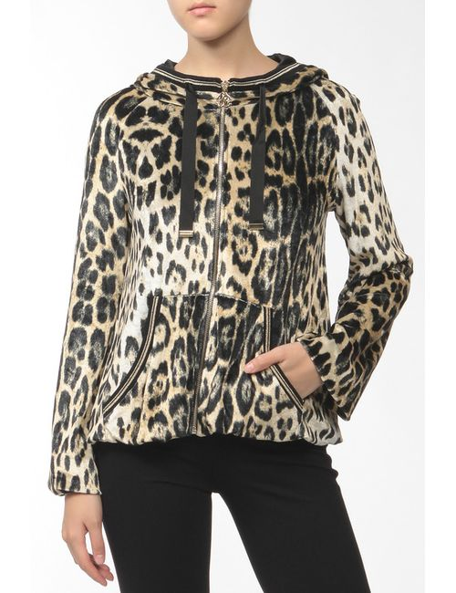 Roberto Cavalli   Женская Многоцветная Куртка
