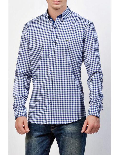 Lacoste | Мужская Синяя Рубашка