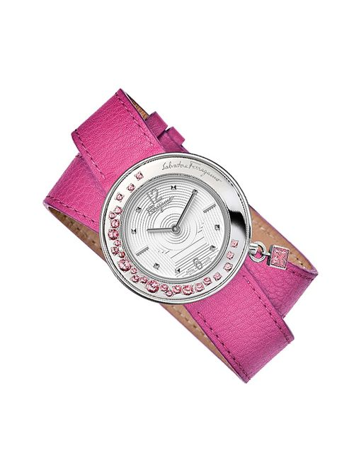 Salvatore Ferragamo | Женские Розовые Часы Наручные