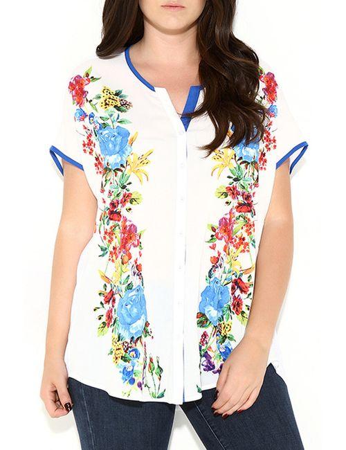 Zer Otanik | Женская Белая Рубашка