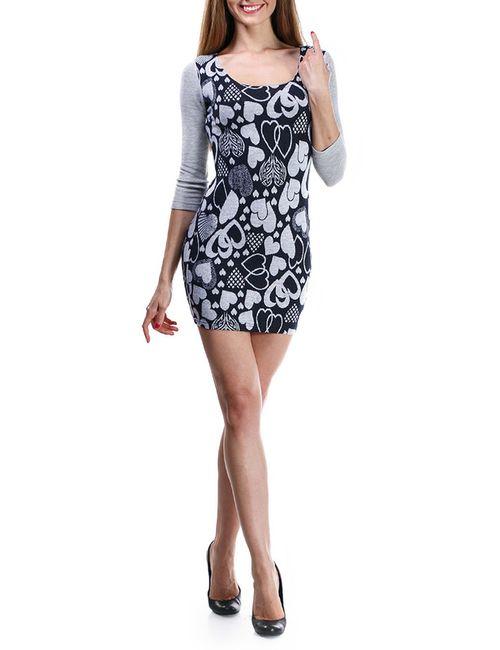 Majaly | Женское Серое Платье