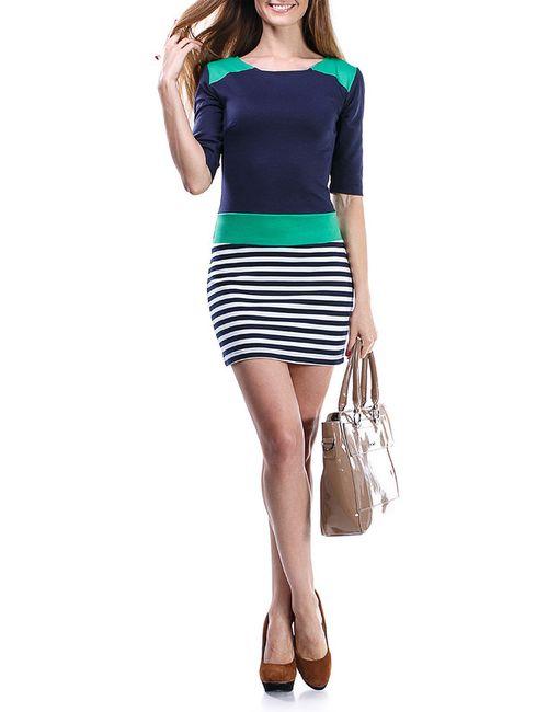 Majaly | Женское Зелёное Платье