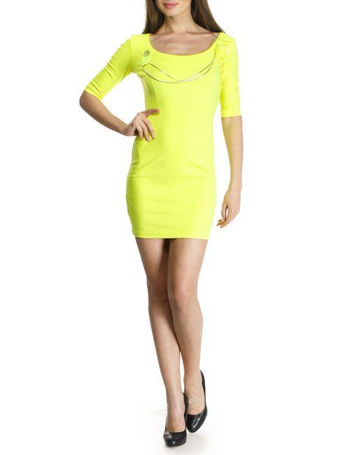 Majaly   Женское Жёлтое Платье