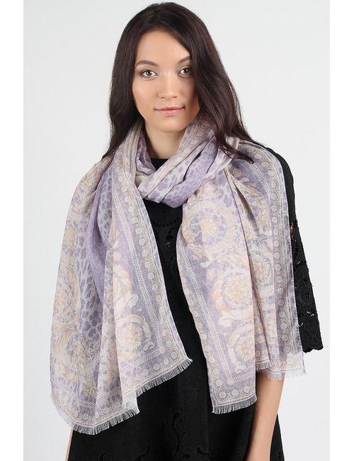Versace   Женский Фиолетовый Шарф