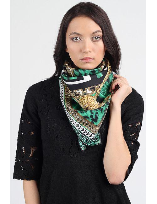 Versace | Женский Зелёный Платок