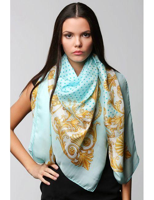 Versace   Женский Голубой Платок