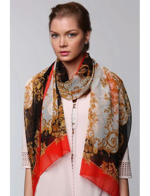 Versace | Женский Красный Палантин