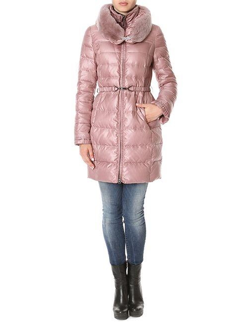 Acasta | Женское Розовое Пальто Пуховое
