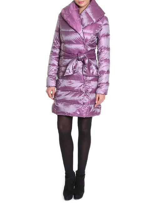 La Reine Blanche | Женское Фиолетовое Пальто Пуховое