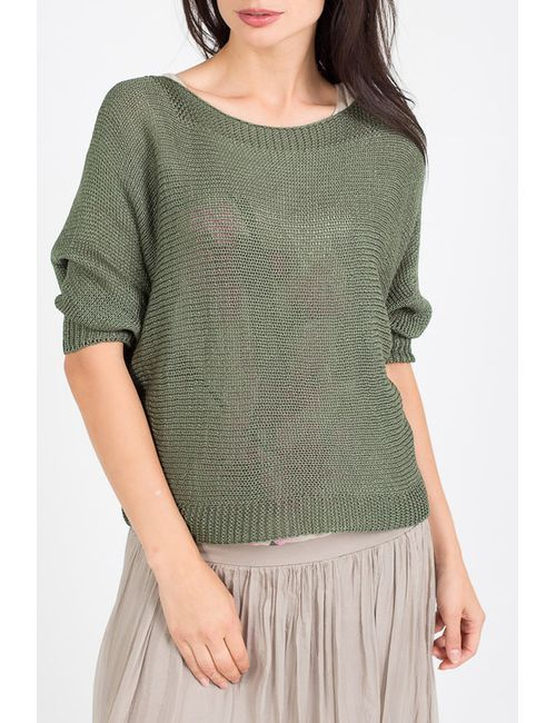Amado Barcelona   Женская Зелёная Блуза