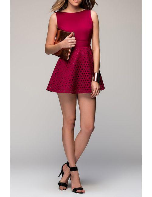 Ironi | Женское Красное Платье