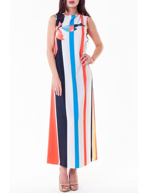 GLAM GODDESS | Женское Многоцветное Платье