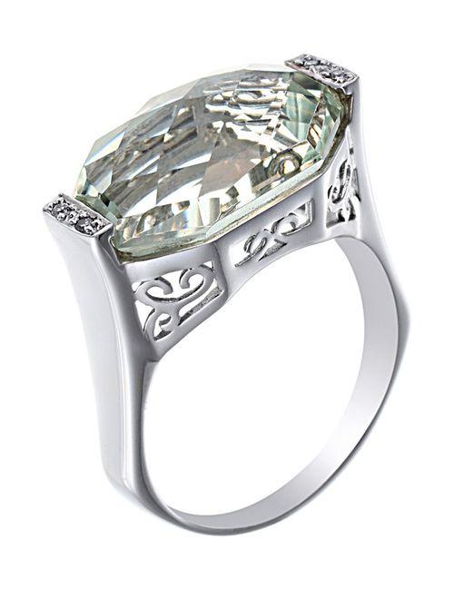 Magic Diamonds | Женское Белое Кольцо
