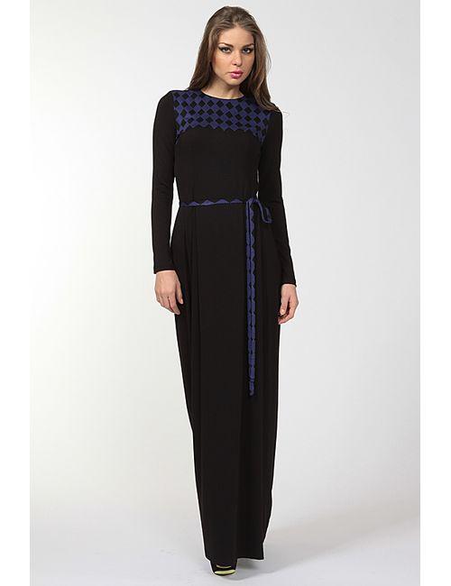 Disetta | Женское Фиолетовое Платье Макси