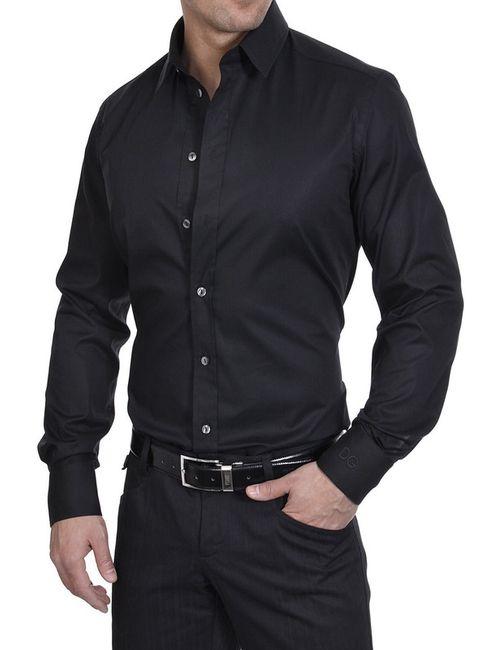 Dolce & Gabbana   Мужская Чёрная Рубашка