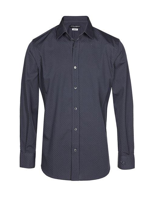Dolce & Gabbana | Мужская Серая Рубашка