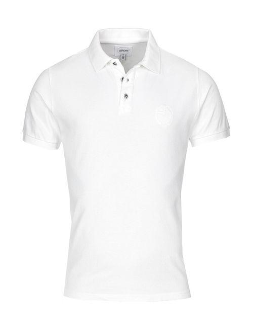 Armani Collezioni | Мужская Белая Рубашка-Поло