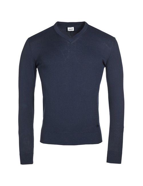 Armani Collezioni | Мужской Синий Пуловер