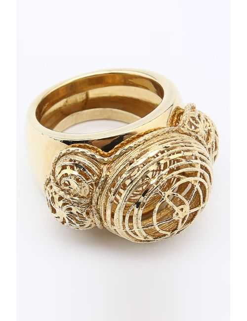 NAVELL   Женское Золотое Кольцо