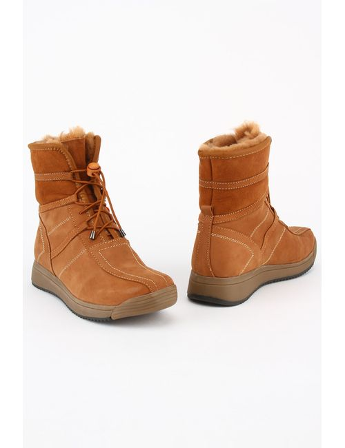 Evita | Женские Оранжевые Ботинки