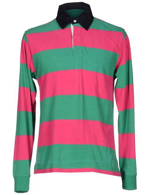 Edward Spiers | Мужская Розовая Рубашка-Поло
