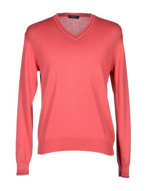 Edward Spiers | Мужской Розовый Пуловер