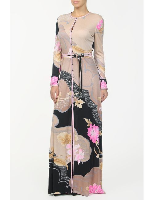 Leonard | Женское Многоцветное Платье Пояс