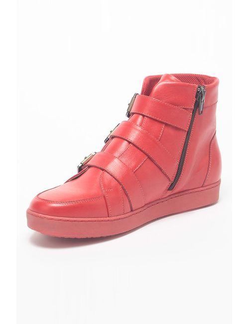 Piranha | Женские Красные Ботинки
