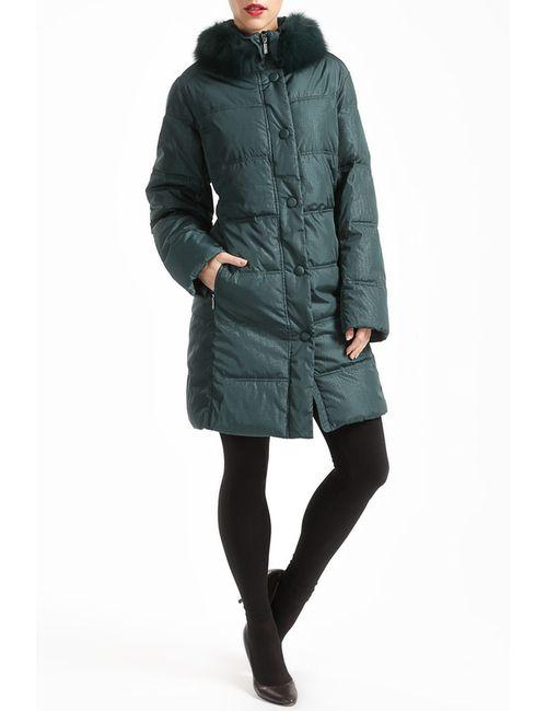 GOLDEN LANE | Женское Зелёное Пальто