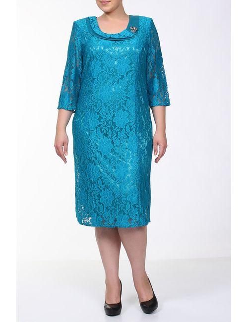 Q'NEEL | Женское Голубой Платье