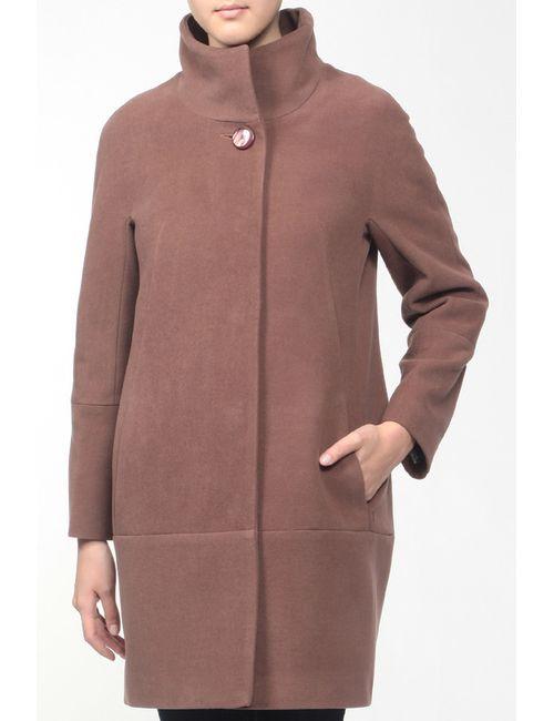 КОРУ-СТИЛЬ | Женское Коричневое Пальто