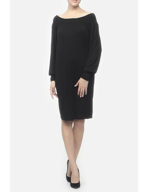 Gucci | Женское Чёрное Платье Джерси
