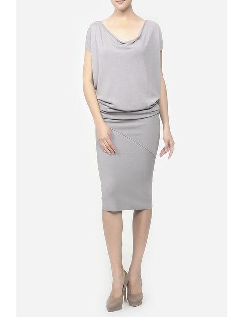 Donna Karan | Женское Серое Платье