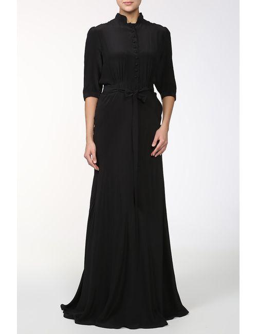 Pas Pour Toi | Женское Чёрное Платье С Поясом