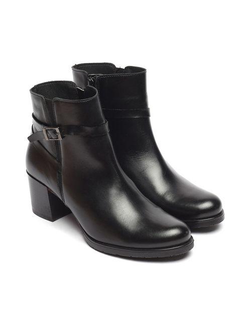 Uma | Женские Чёрные Ботинки