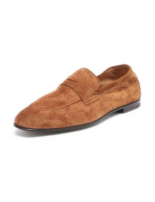 Giorgio Armani | Мужские Коричневые Туфли