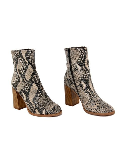 GUSTO | Женские Бежевые Ботинки